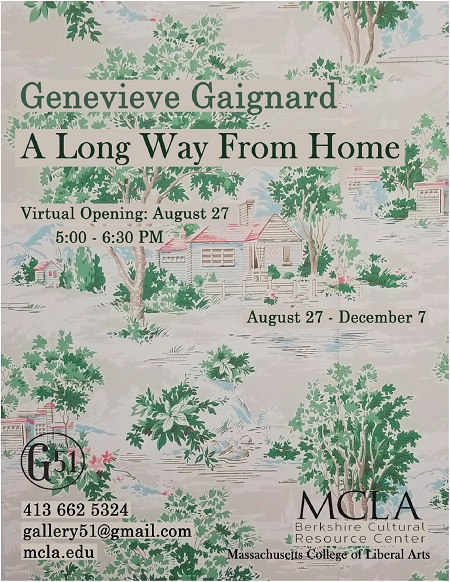 Genevieve Gaignard A Long Way From Home Banner